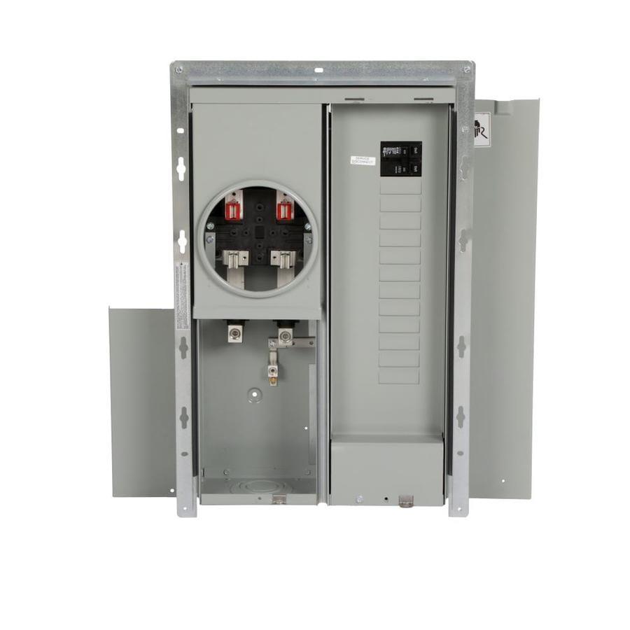 Eaton 16-Circuit 8-Space 200-Amp Main Breaker Load Center