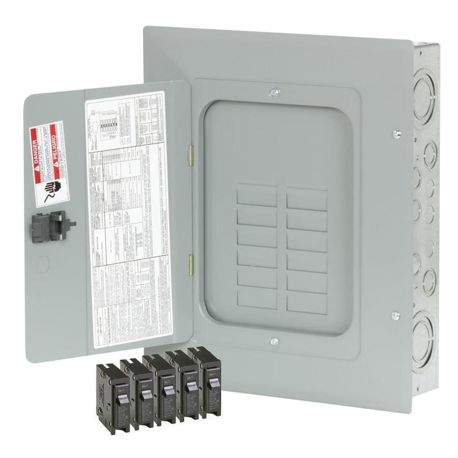 Eaton 24-Circuit 12-Space 125-Amp Main Lug Load Center (Value Pack)
