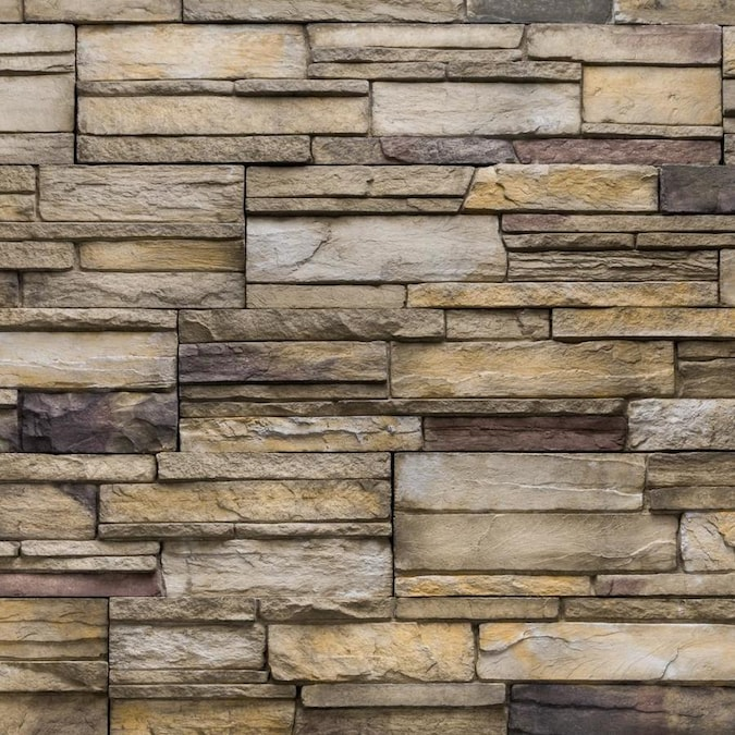 Versetta Stone Ledgestone 4 Sq Ft Plum Creek Manufactured Stone Veneer In The Stone Veneer