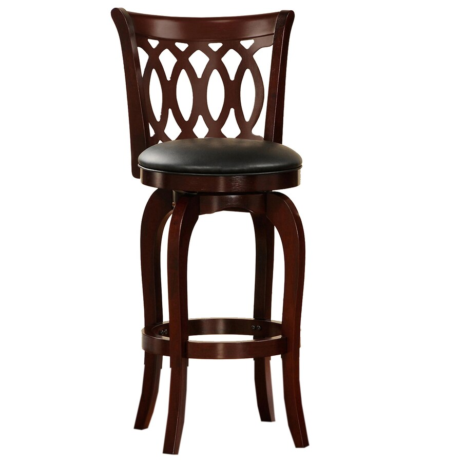 Shop Home Sonata Cherry 29 In Bar Stool At Lowes Com