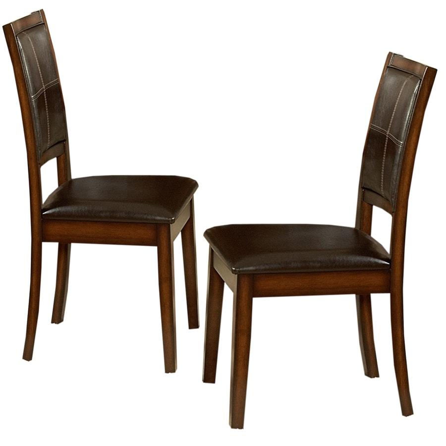 Home Sonata Burnished Oak Side Chair