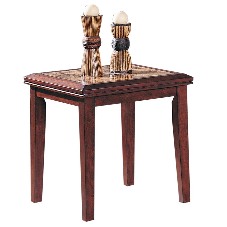 Home Sonata Espresso Asian Hardwood Rectangular End Table