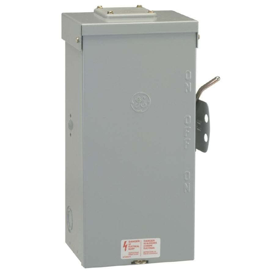 GE 200-Amp Non-Fusible Metallic Safety Switch