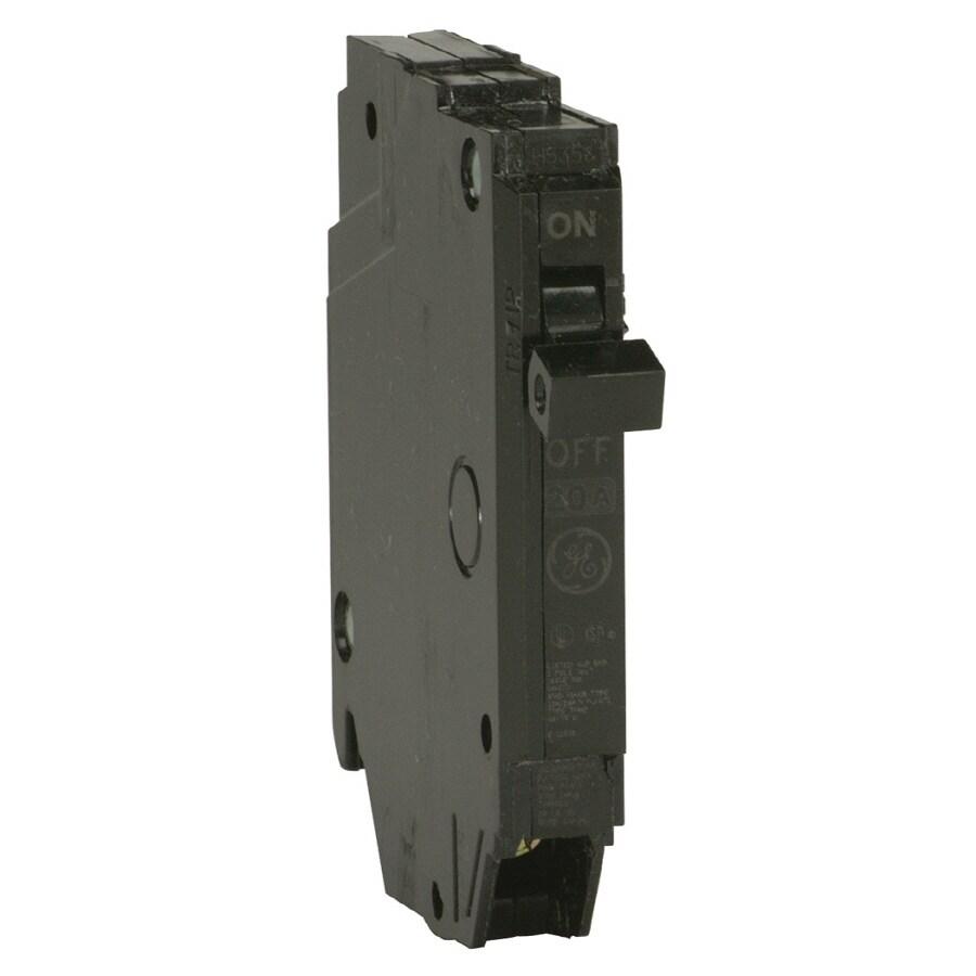Shop ge q line thqp 20 amp 1 pole single pole circuit for Bathroom 20 amp circuit