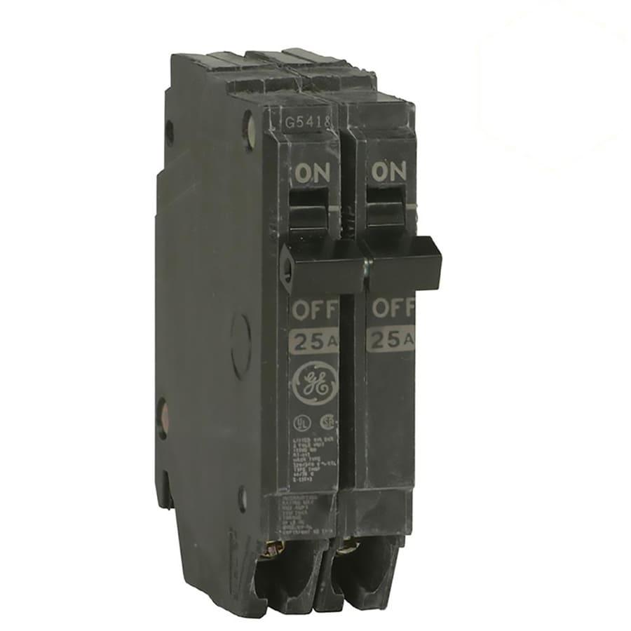 GE Q-Line THQP 50-Amp 2-Pole Double-Pole Circuit Breaker