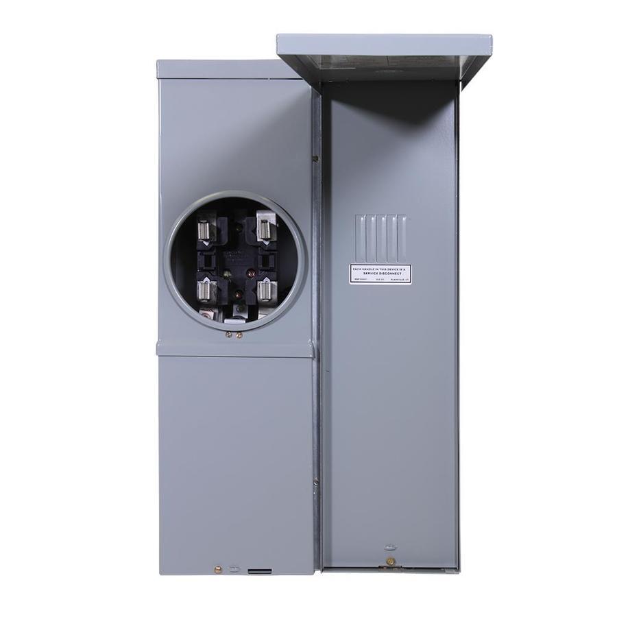 GE 100-Amp Ring Type Single Phase (124/240) Meter Socket
