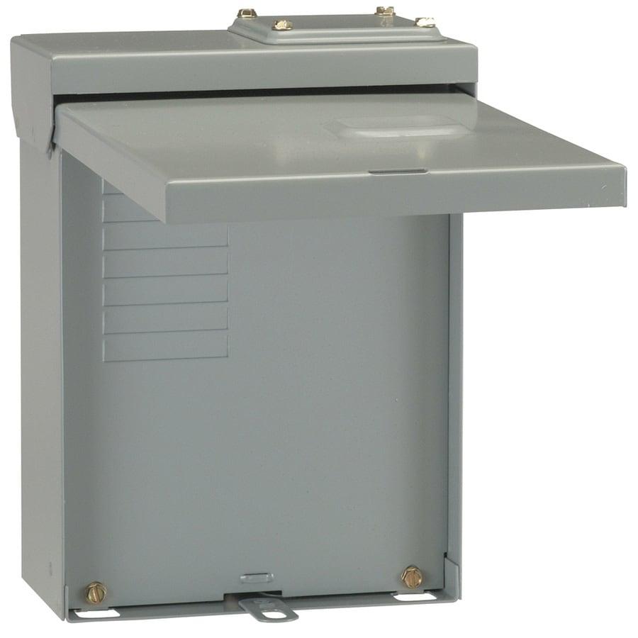 GE 8-Circuit 4-Space 125-Amp Main Lug Convertible Load Center