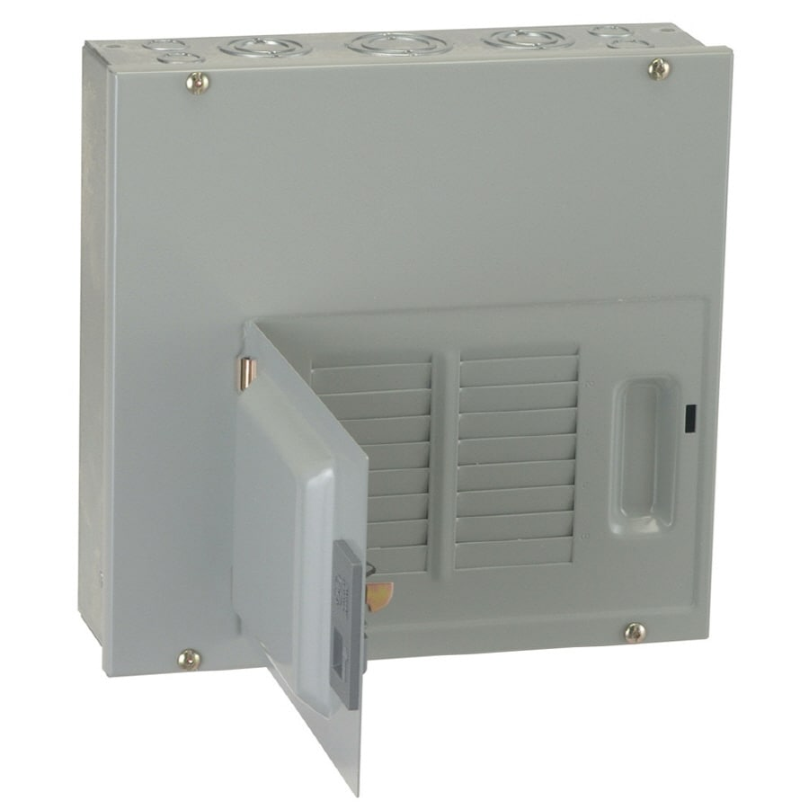 GE 12-Circuit 6-Space 126 Amp Main Lug Convertible Load Center