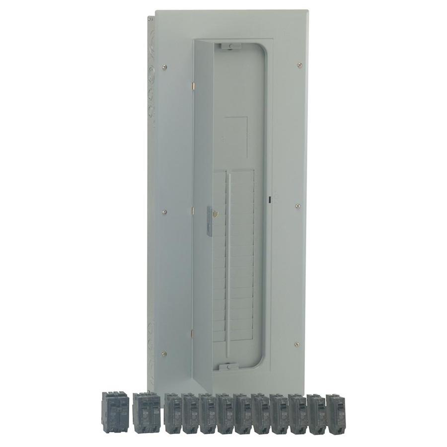 GE 32-Circuit 40-Space 200-Amp Main Lug Load Center (Value Pack)
