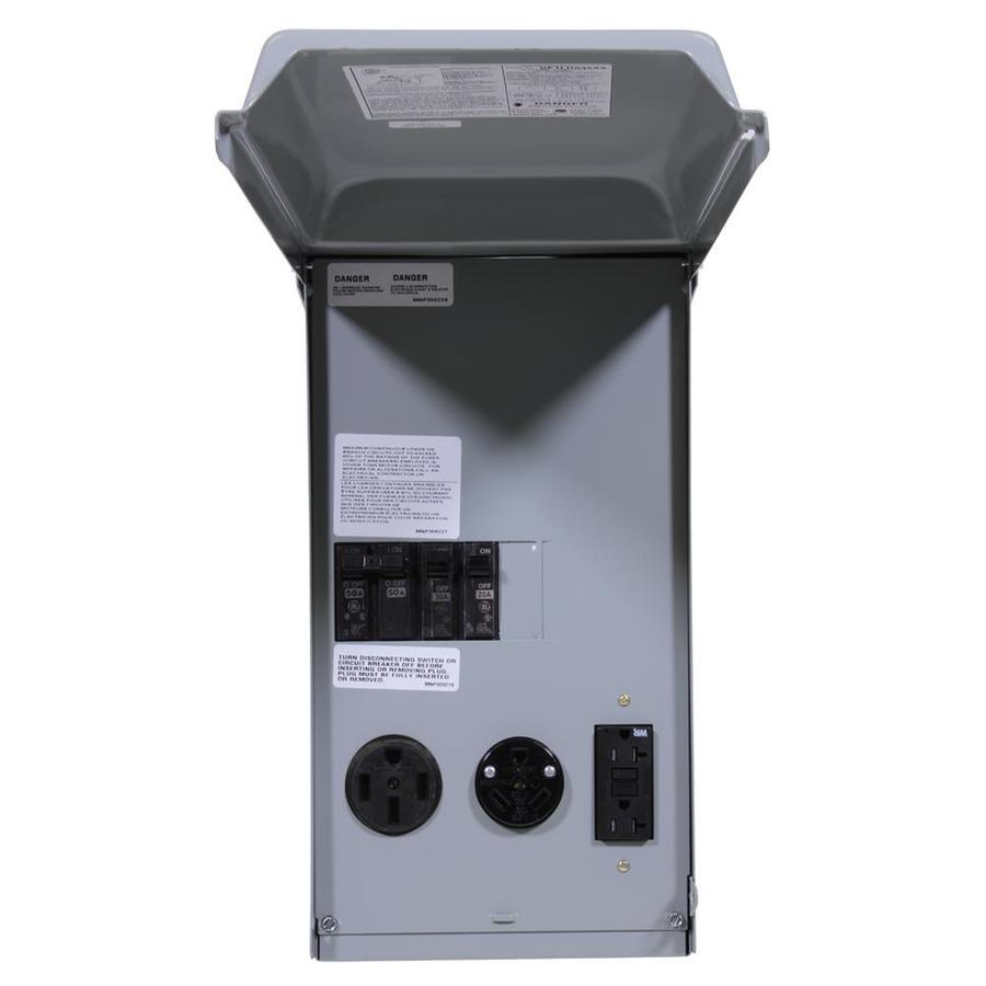 GE 3-Circuit 3-Space 100-Amp Main Breaker Load Center