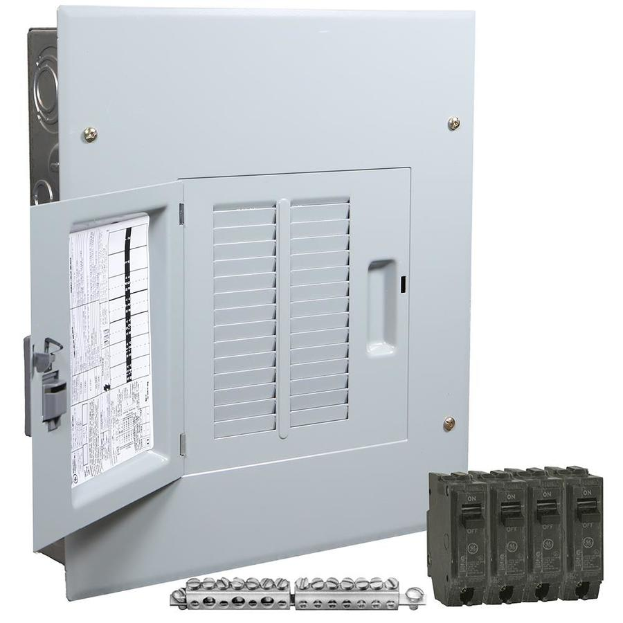 GE PowerMark Gold 125-Amp 12-Spaces 24-Circuit Main Lug Load Center (Value  Pack) in the Breaker Boxes department at Lowes.com | Ge Fuse Box |  | Lowe's