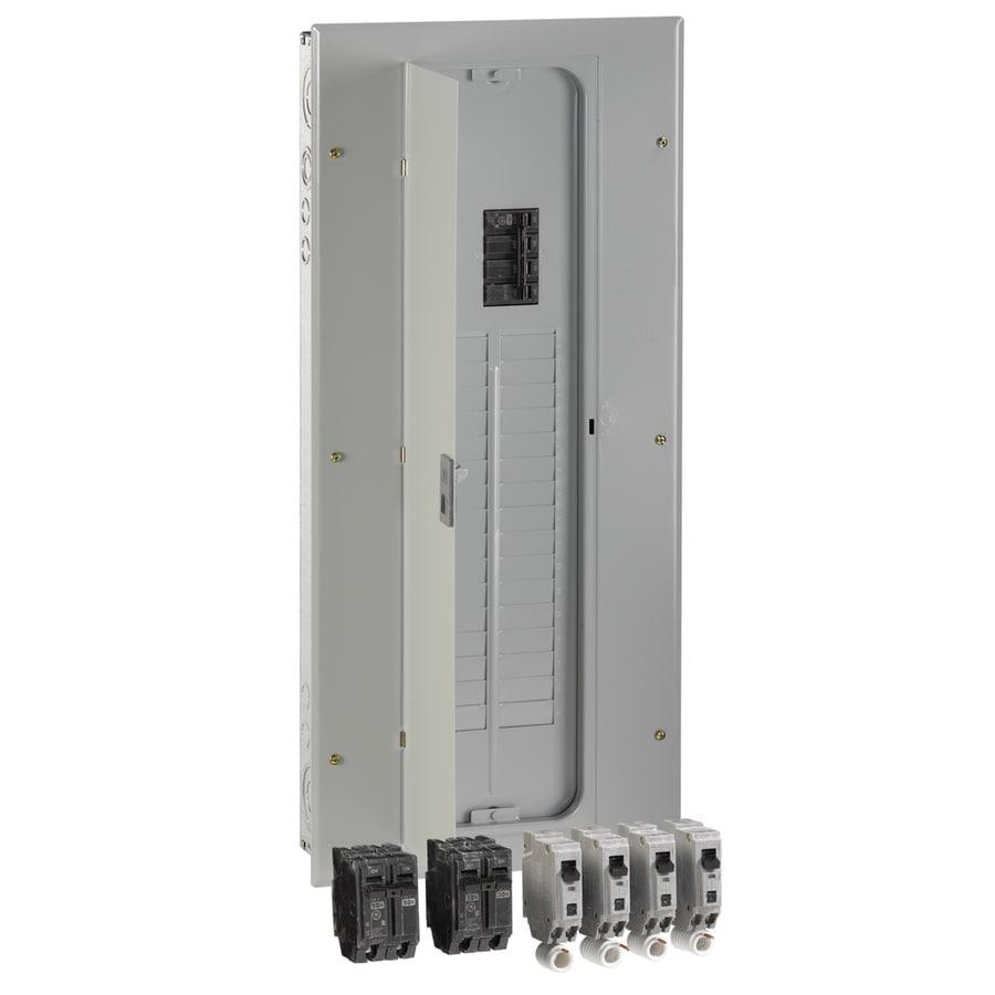 GE 40-Circuit 32-Space 200-Amp Main Breaker Load Center (Value Pack)