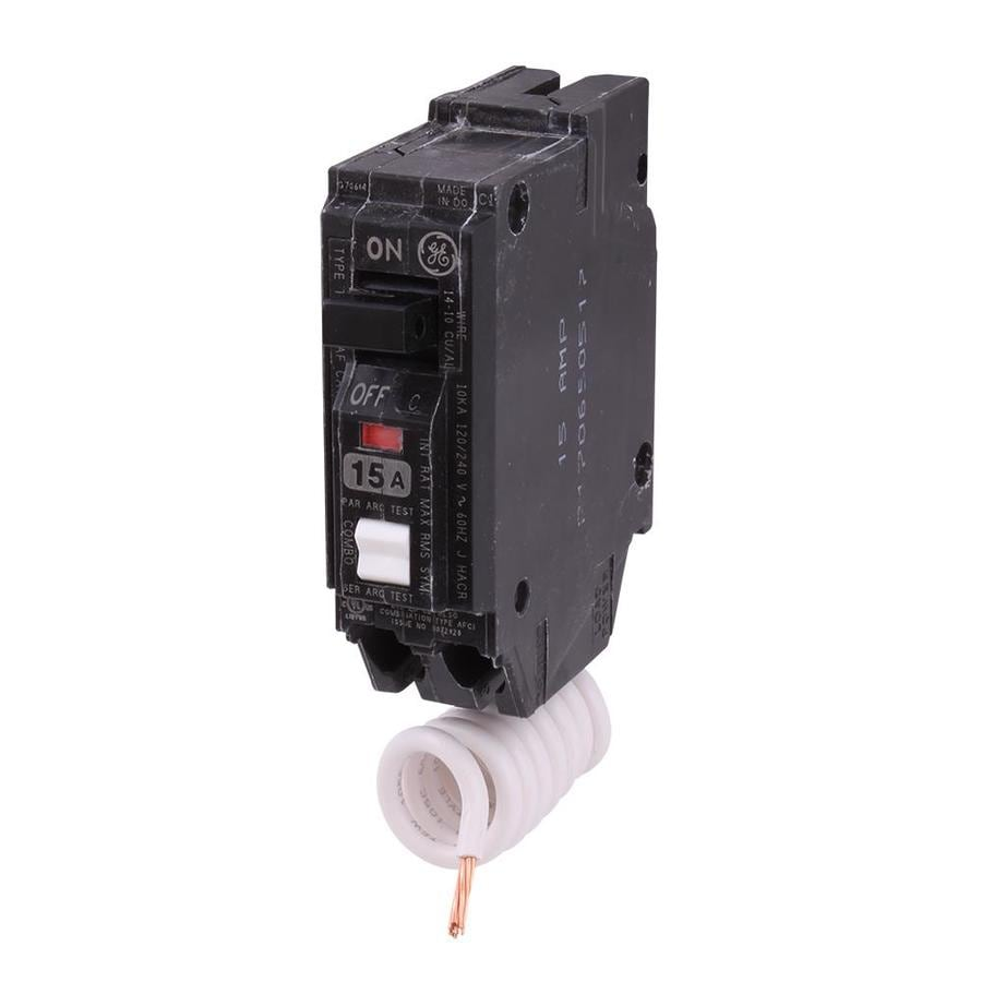 GE Q-Line THQL 15-Amp 1-Pole Single-Pole Circuit Breaker