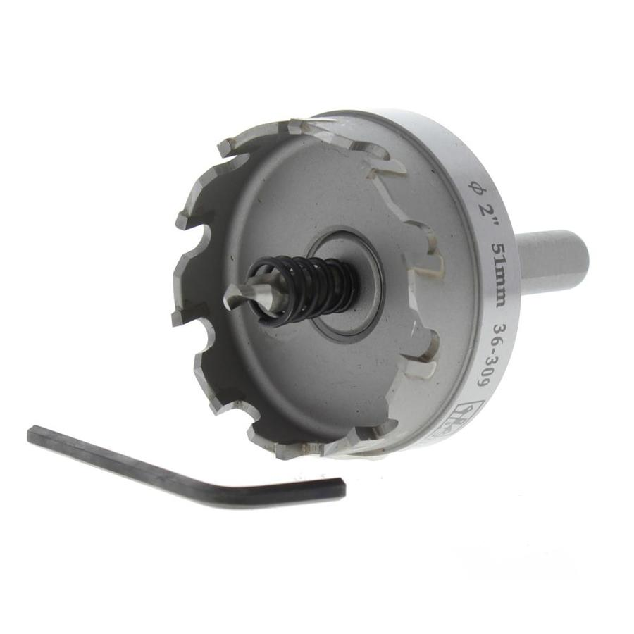 IDEAL 2-in Carbide-Tipped Arbored Hole Saw