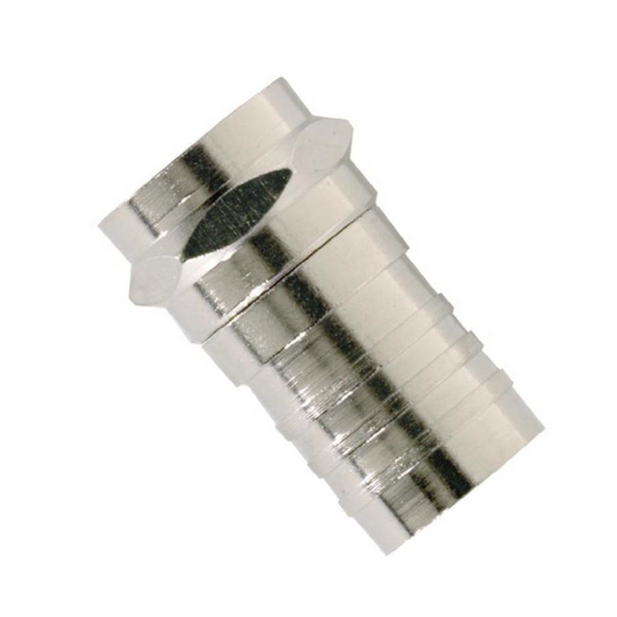 IDEAL 10-Pack Brass Crimp F-Connectors