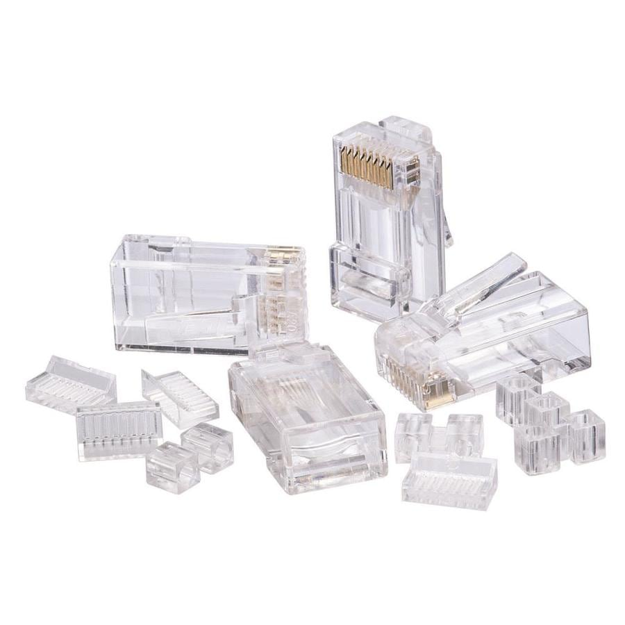 [SCHEMATICS_49CH]  IDEAL 25-Pack Cat6 Rj45 Modular Plug in the Voice & Data Connectors  department at Lowes.com | Ideal Rj45 Wiring Diagram |  | Lowe's