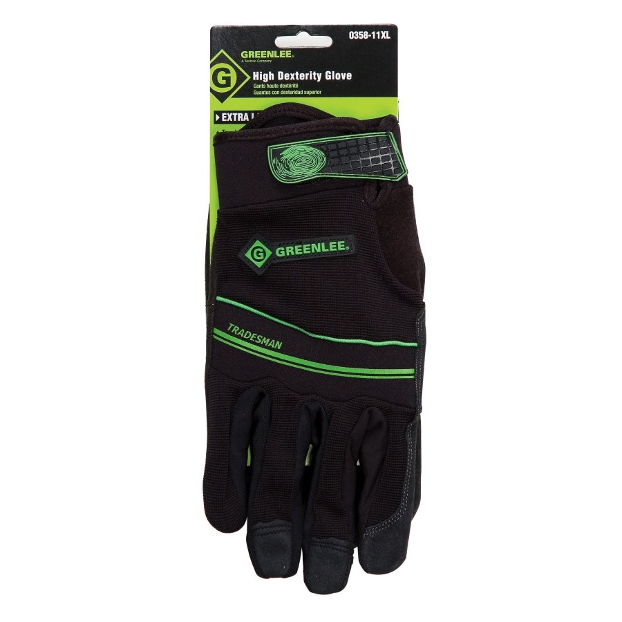 Greenlee XL Mechanics Gloves