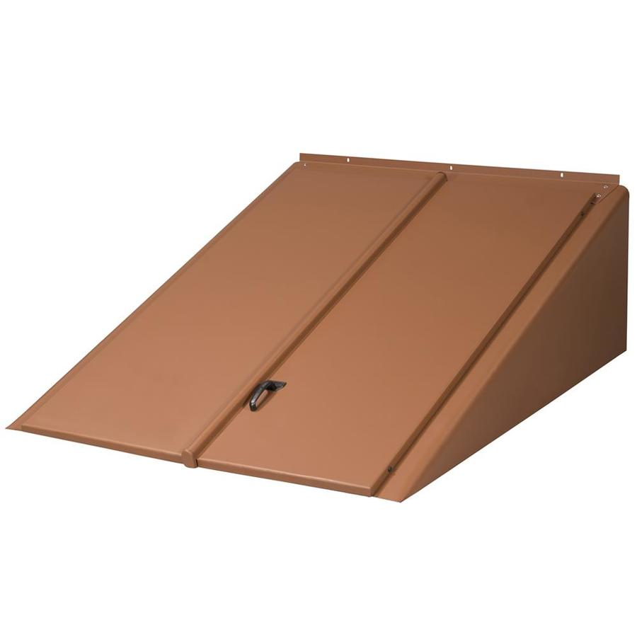 Shop bilco 47 in x 30 in steel cellar door at - Cellar door hinges ...