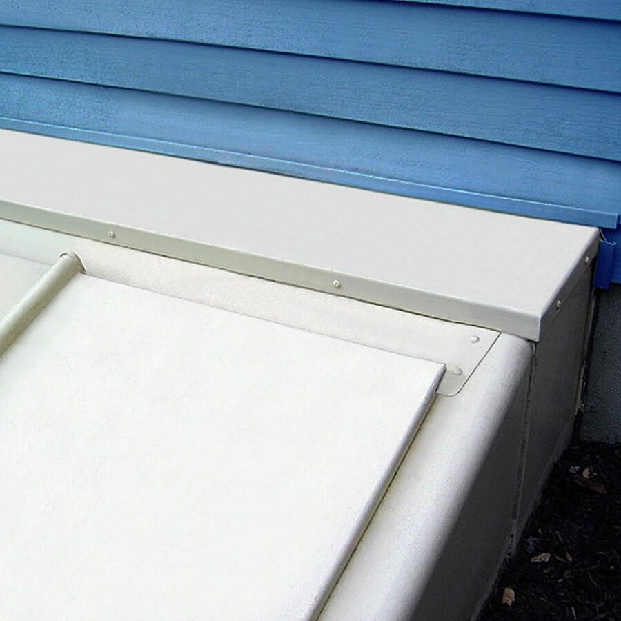 Bilco 12-in Powder-Coat White Extension Kit