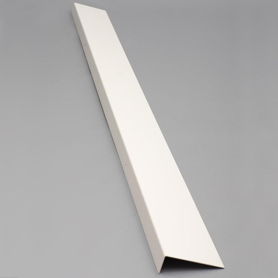 Bilco 5-in x 72-in Powder Coat White Foundation Plate