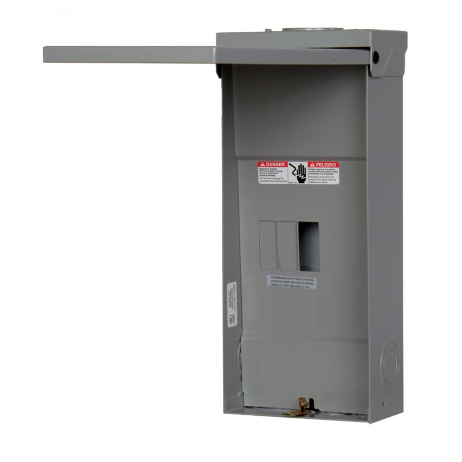 Siemens 4-Circuit 2-Space 125-Amp Main Lug Load Center