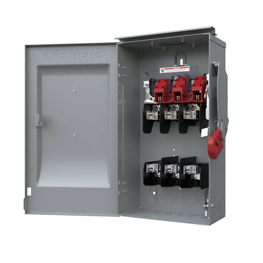 Siemens 60-Amp Fusible Metallic Safety Switch