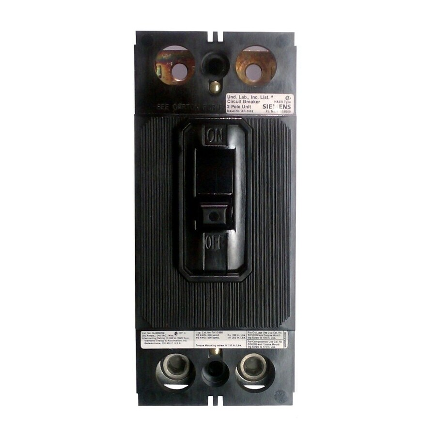 Siemens QP 225-Amp 2-Pole Main Circuit Breaker