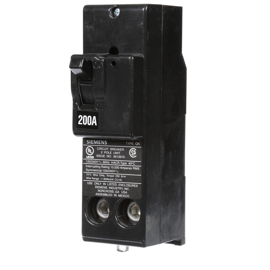 Siemens QP 200-Amp 2-Pole Circuit Breaker