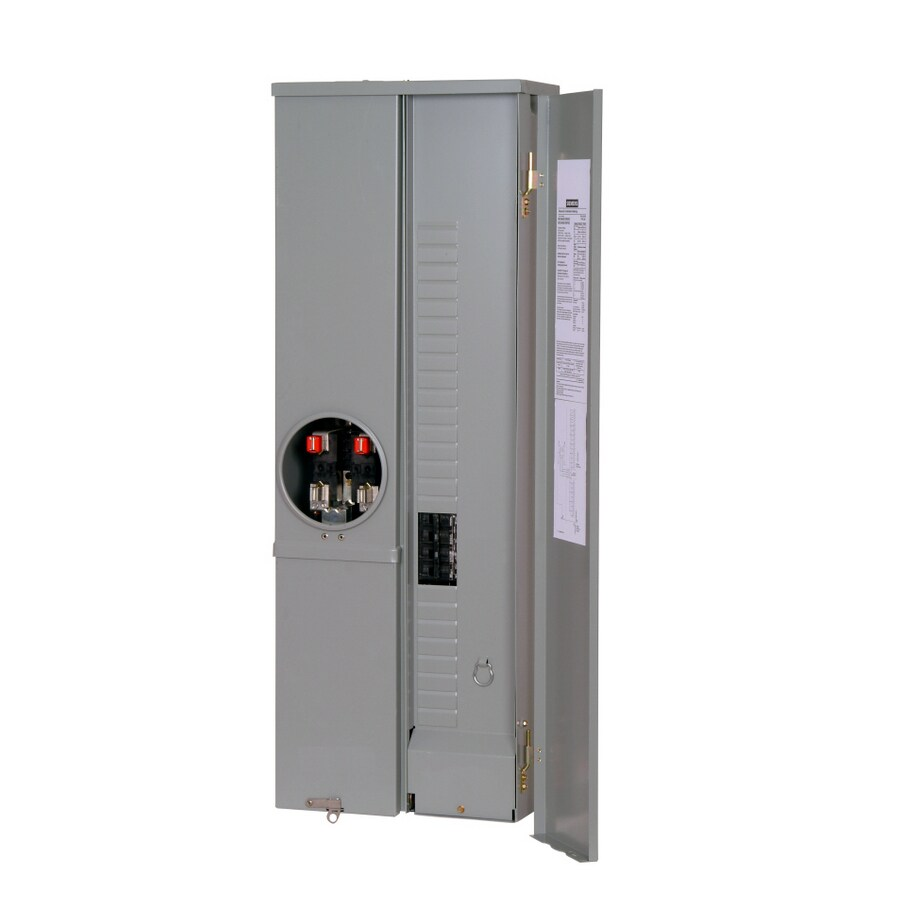 Siemens 16-Circuit 8-Space 200-Amp Main Breaker Load Center