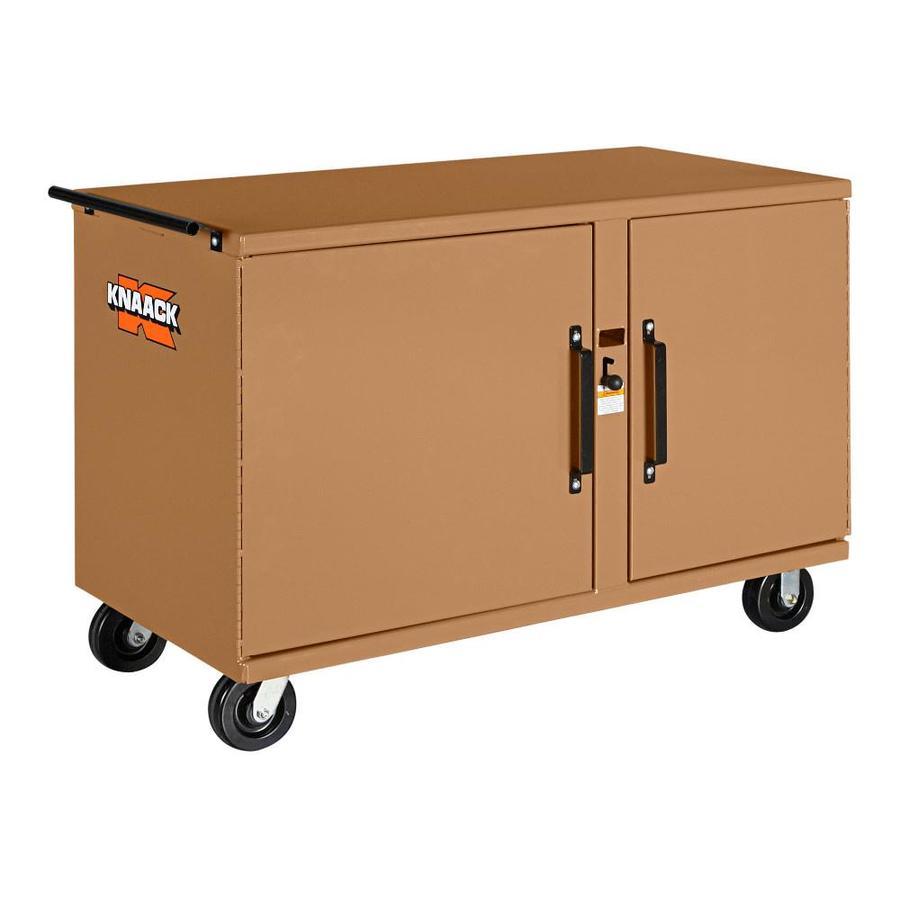 KNAACK 26-in W x 54.25-in L x 37.33-in Steel Jobsite Box
