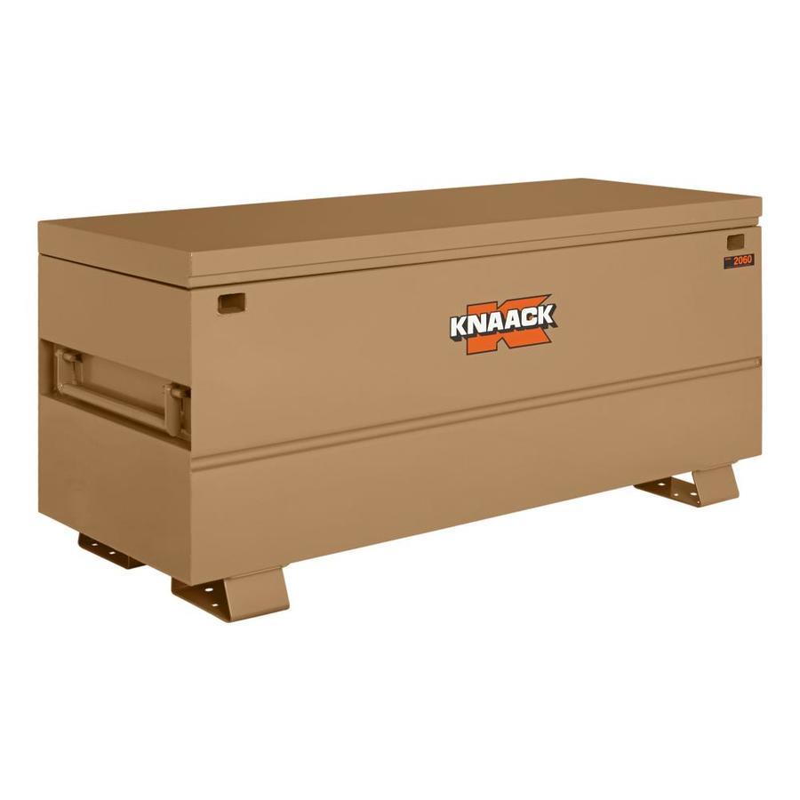 KNAACK 24-in W x 60-in L x 28-in Steel Jobsite Box