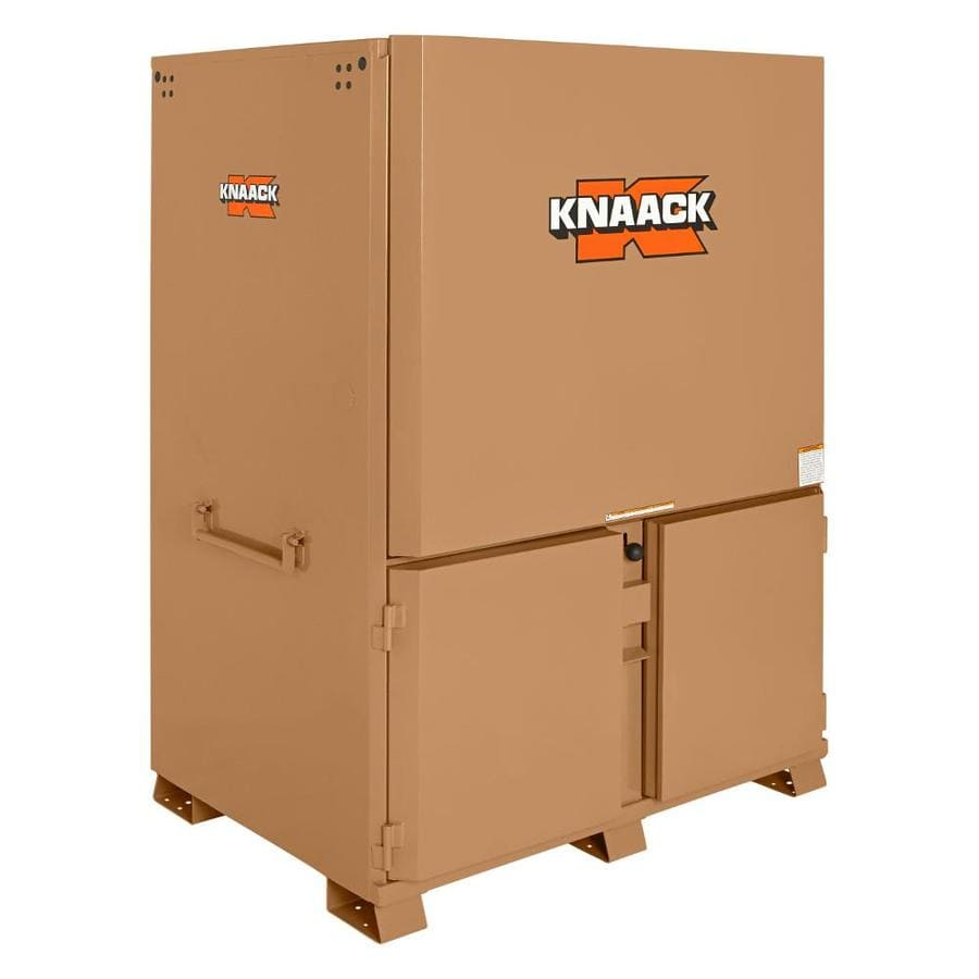 KNAACK 44-in W x 60-in L x 82.25-in Steel Jobsite Box