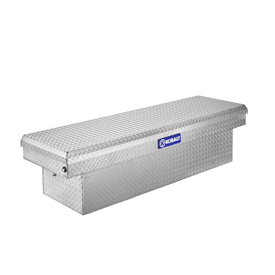 Kobalt 71.4-in x 19.6-in x 17.4-in Aluminum Full-Size Truck Tool Box
