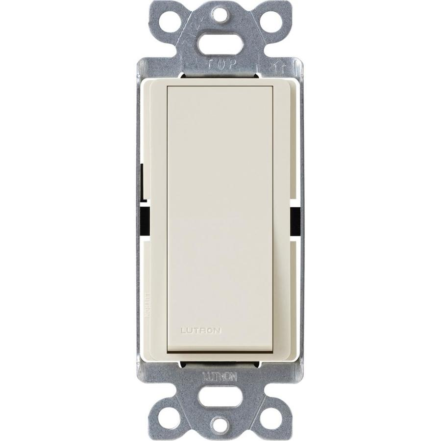 Lutron Claro 4-Way Light Almond Light Switch