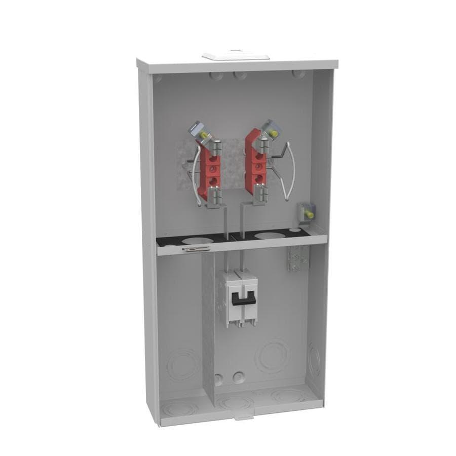 Milbank 100-Amp Ringless Single Phase (120/240) Meter Socket