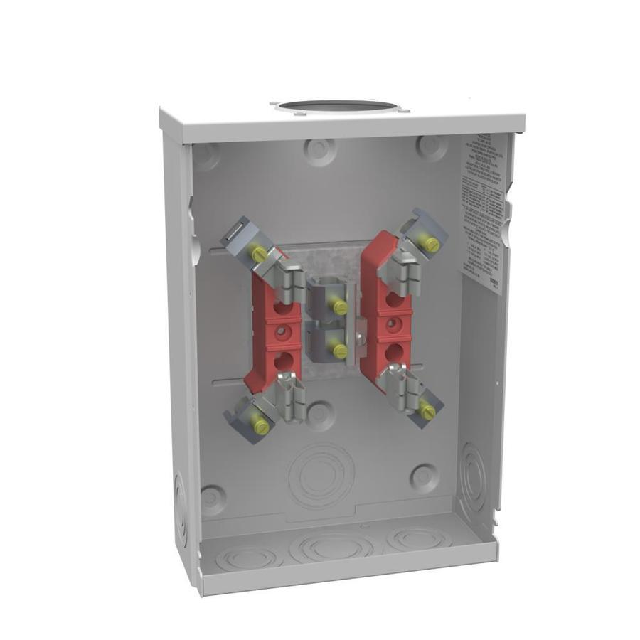 Milbank 125-Amp Ring Single Phase (120/240) Meter Socket