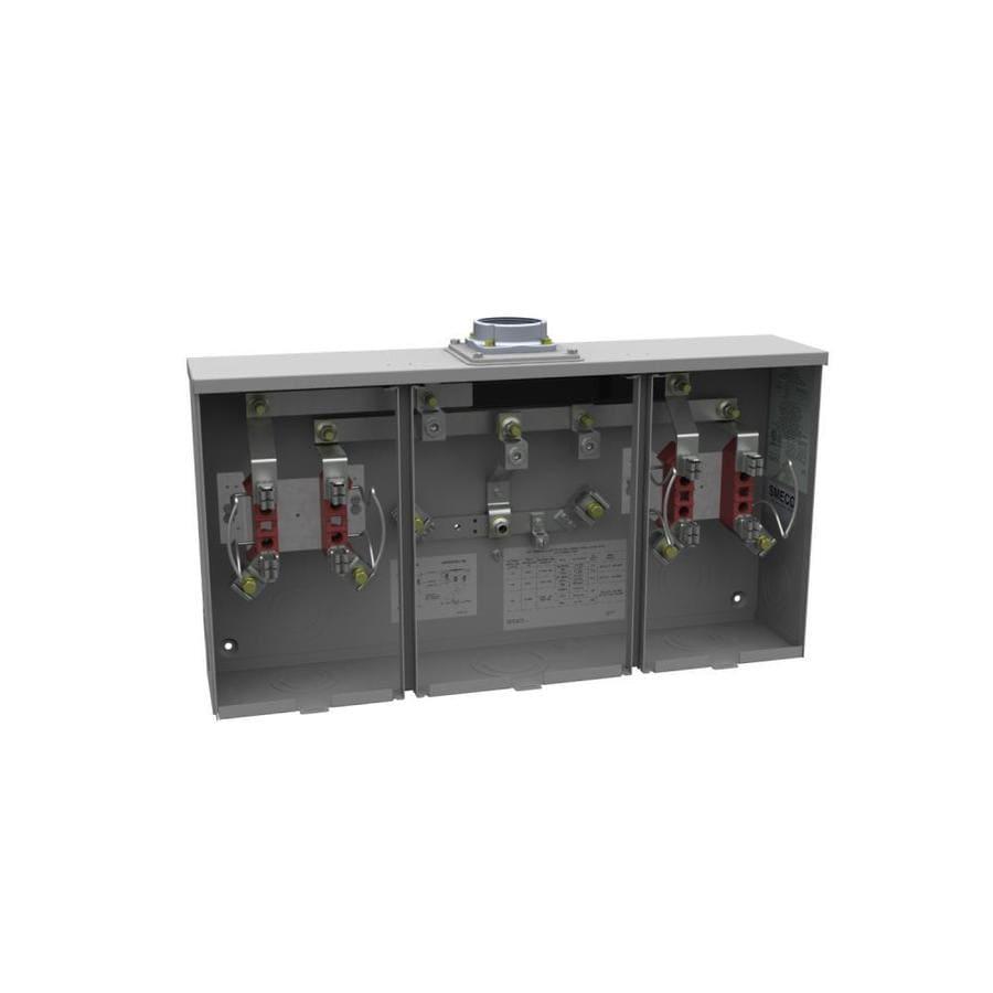 Milbank 400-Amp Ringless Single Phase (120/240) Meter Socket