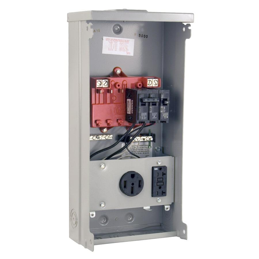Shop Milbank RV Power Outlet Gray Steel Weatherproof ...