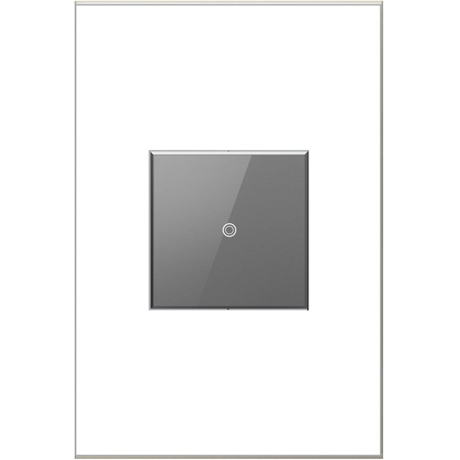 Legrand adorne Touch 15-Amp 3-Way Single Pole Magnesium Indoor Touch Light Switch