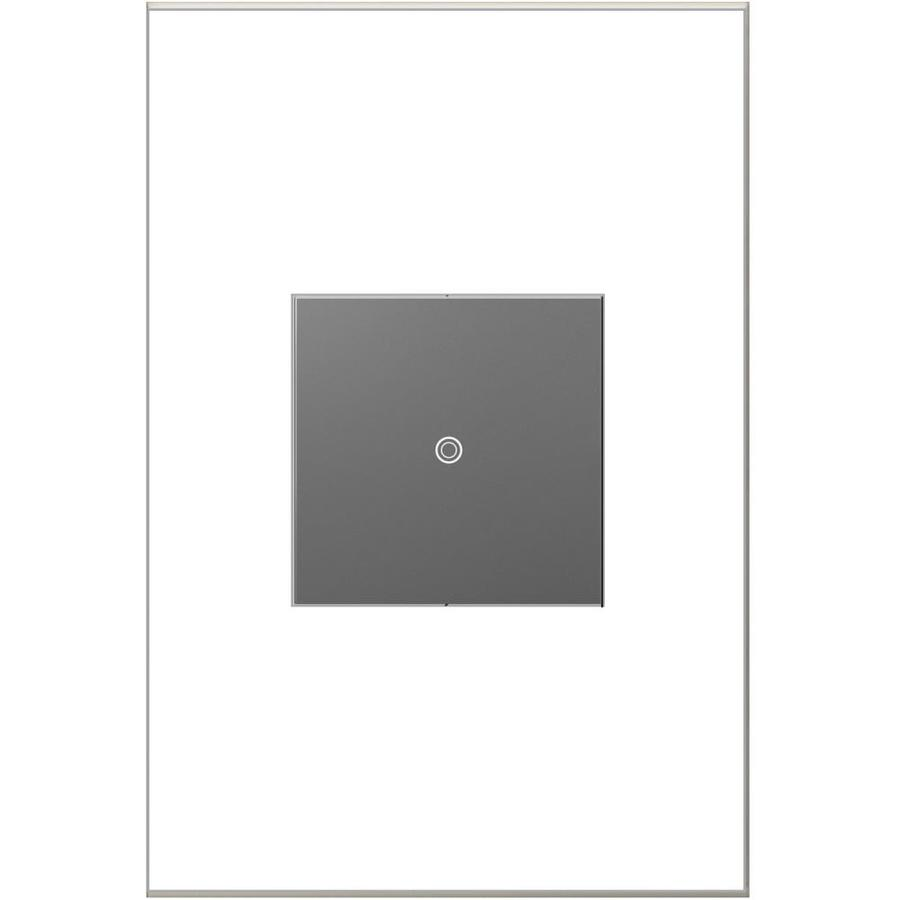 Shop Legrand Adorne Softap 3 Way Single Pole Magnesium Light Switch At