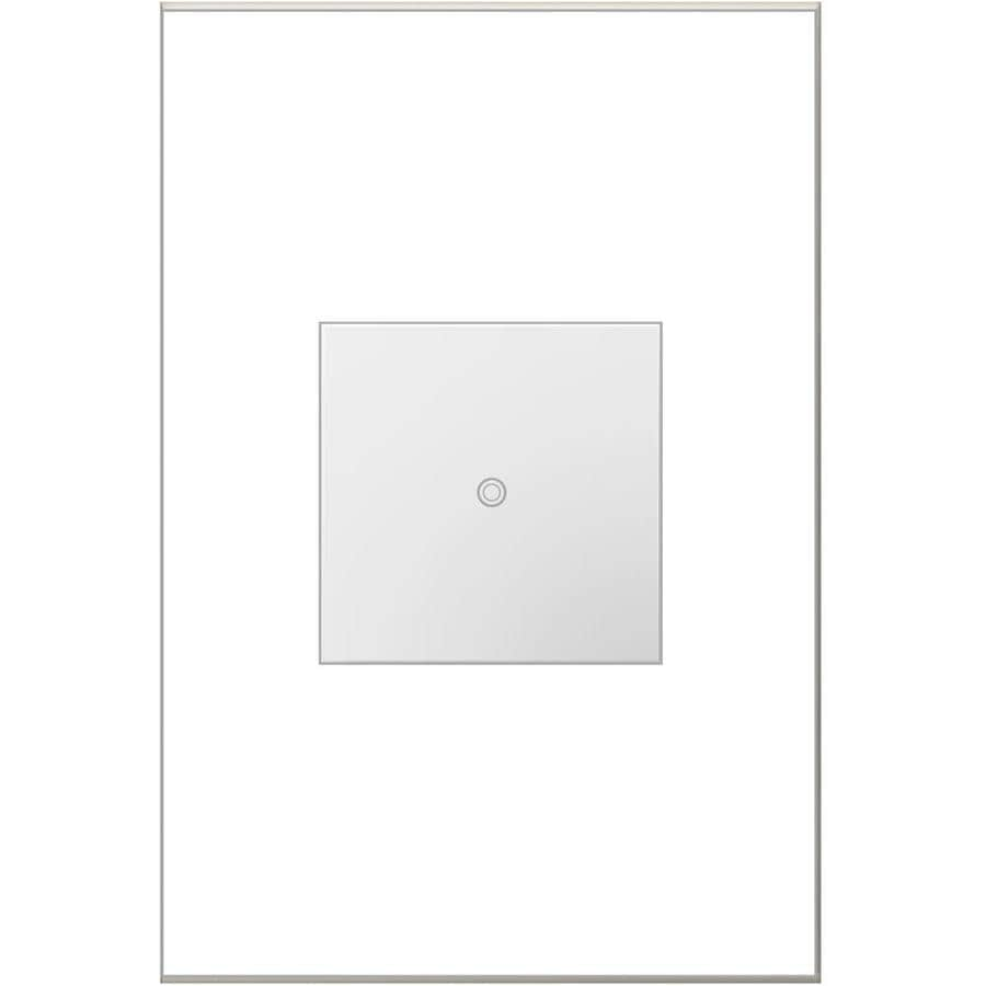 Legrand adorne Softap 3-Way Single Pole White Light Switch
