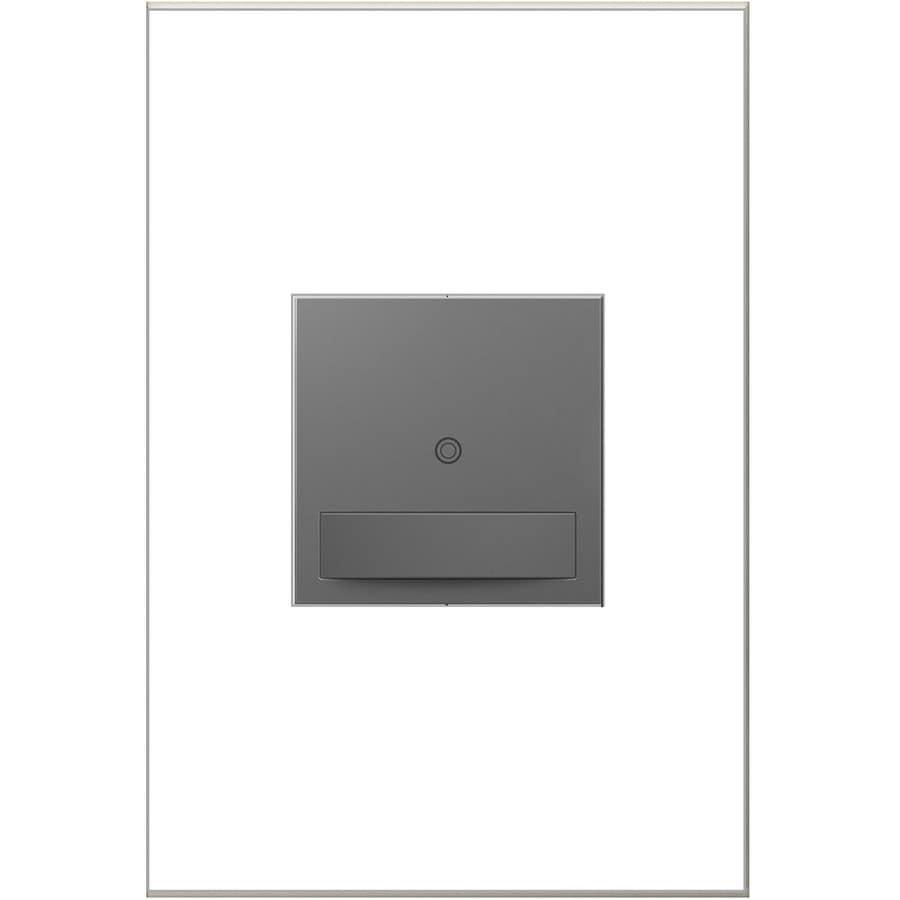 Legrand adorne Sensaswitch 600-Watt 3-Way Single Pole Magnesium Indoor Motion Vacancy Sensor