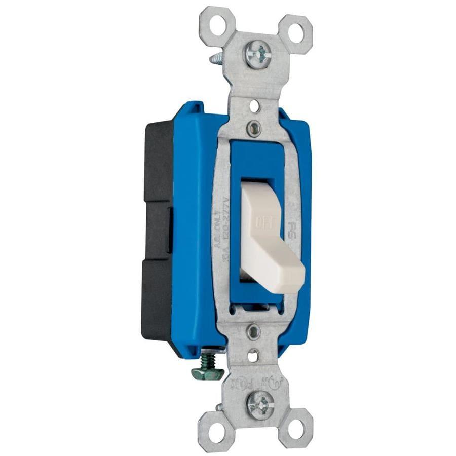 Pass & Seymour/Legrand Single Pole Light Almond Light Switch