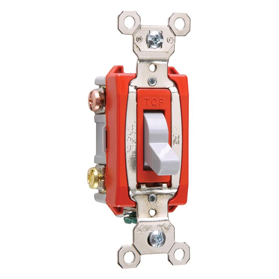 Legrand 15/20-Amp 3-Way Gray Indoor Toggle Light Switch