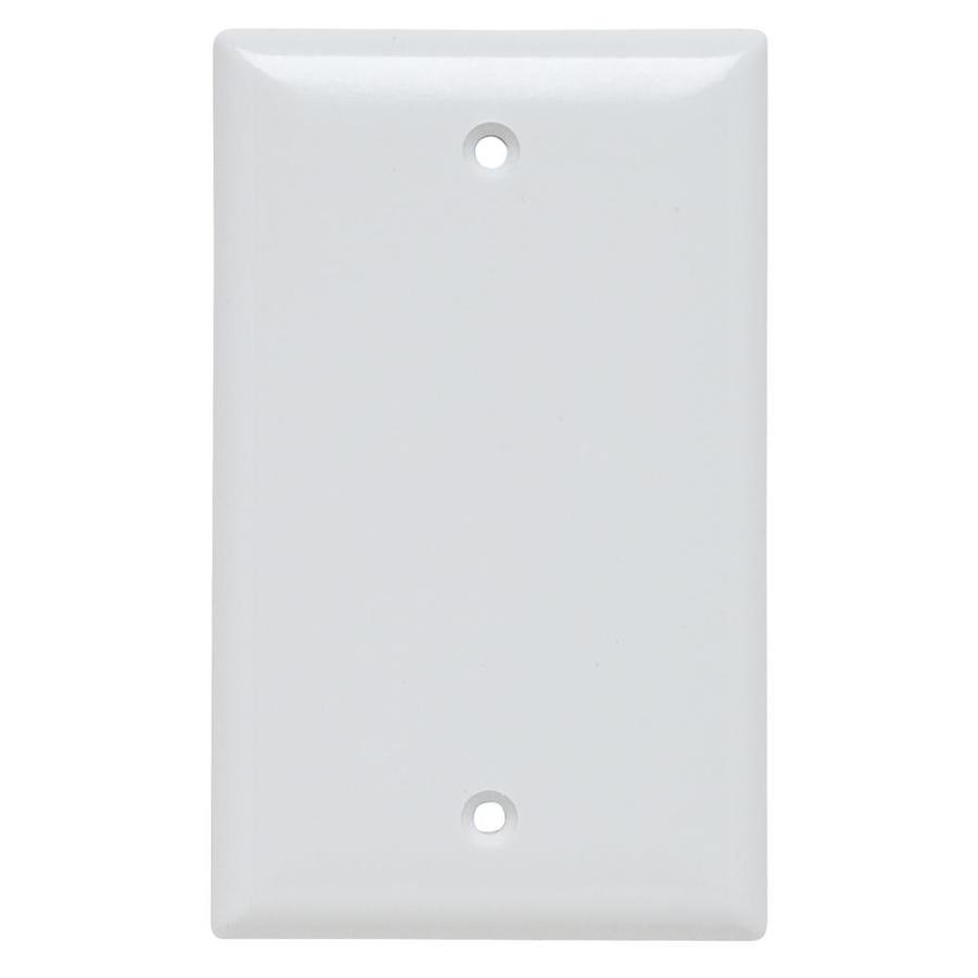 Legrand Trademaster 1-Gang White Single Blank Wall Plate