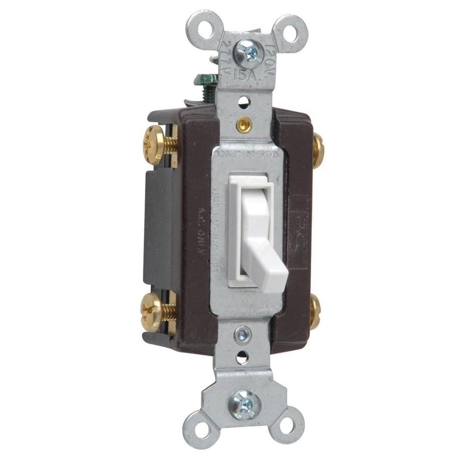 Legrand 4-Way Ivory Light Switch