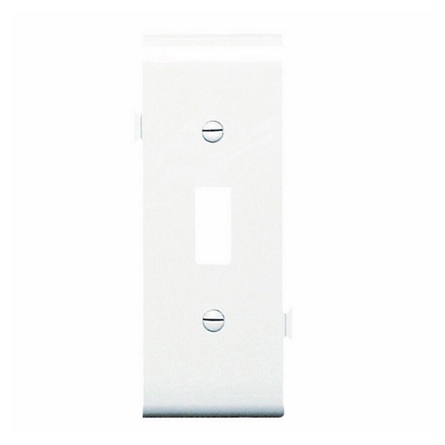 Legrand 1-Gang White Toggle Wall Plate