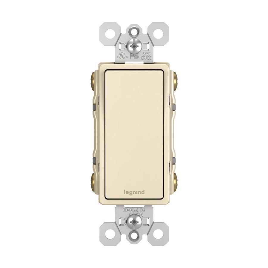Legrand 4-Way Light Almond Light Switch