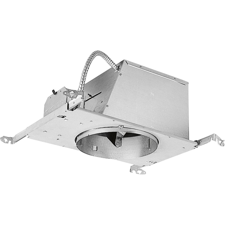 Progress Lighting New Construction Airtight IC Slope Recessed Light Housing (Common: 8-in; Actual: 8-in)