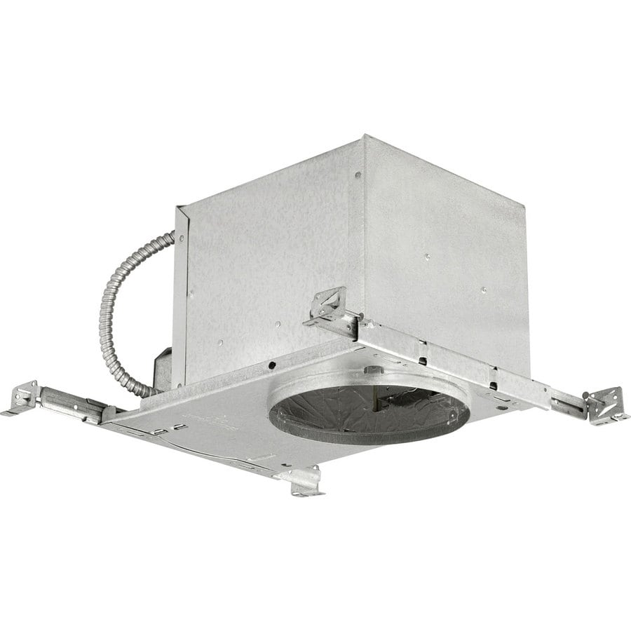 Progress Lighting New Construction IC Slope Recessed Light Housing (Common: 6-in; Actual: 6-in)